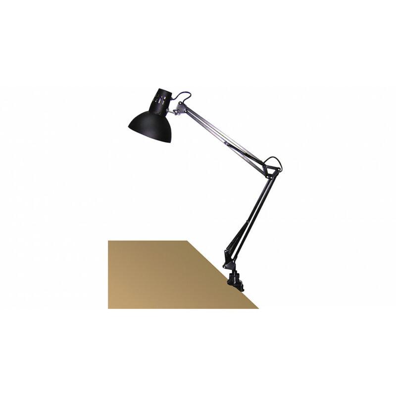 Rábalux Arno 4215 csiptetős asztali lámpa fekete fém E27 1x MAX 60 E27 1 db IP20