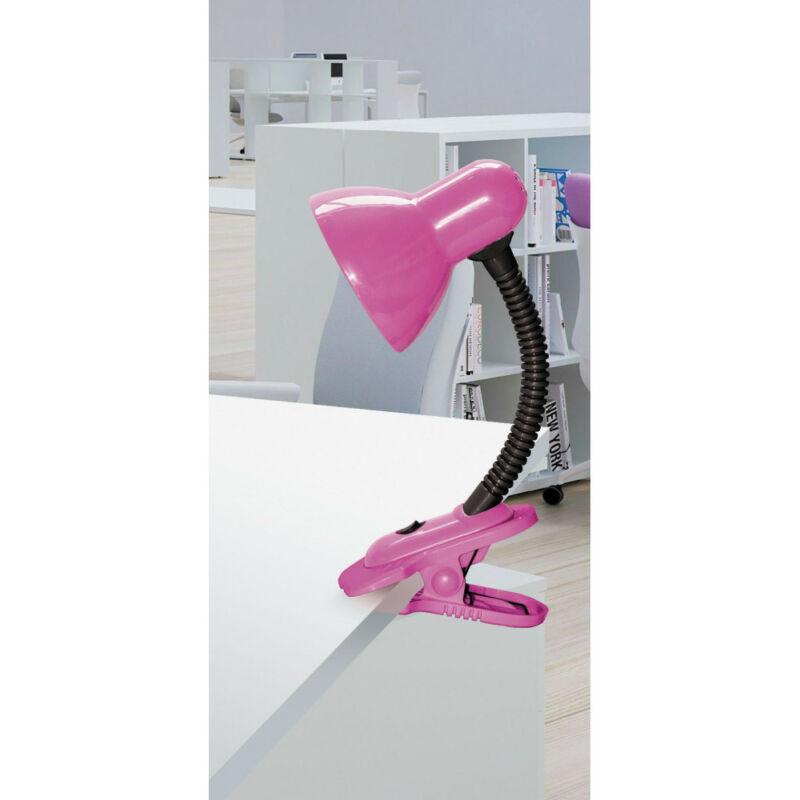 Rábalux Dennis 4259 csiptetős asztali lámpa rózsa fém/ műanyag E27 1x MAX 40 E27 1 db IP20