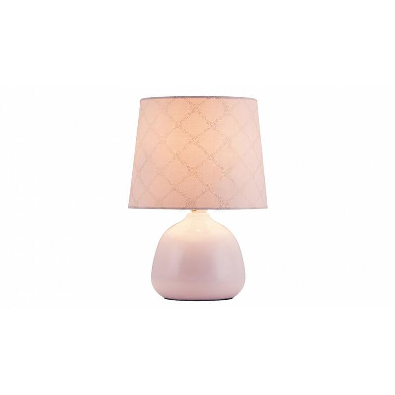 Rábalux Ellie 4384 éjjeli asztali lámpa rózsa kerámia E14 1x MAX 40 E14 1 db IP20