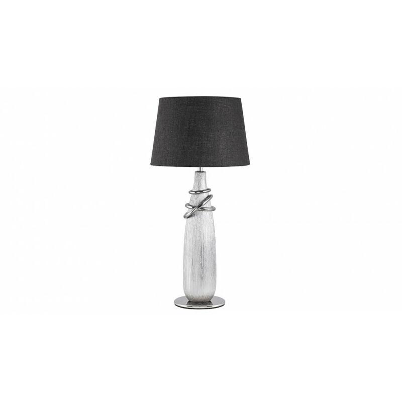 Rábalux Evelyn 4390 éjjeli asztali lámpa ezüst kerámia E27 1x MAX 40 E27 1 db IP20