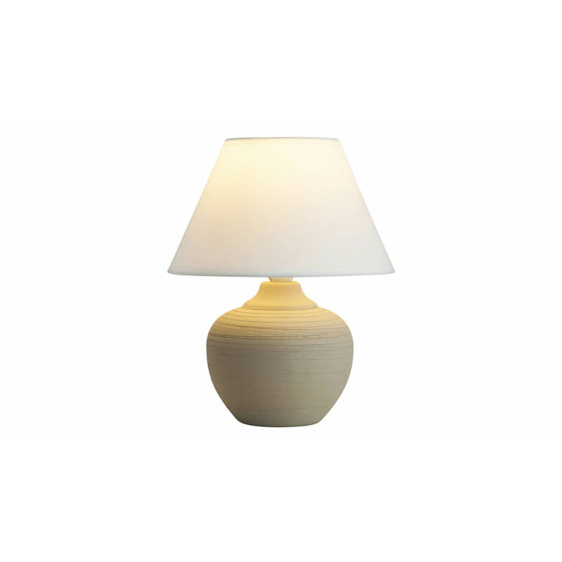 Rábalux Molly 4391 éjjeli asztali lámpa bézs kerámia E14 1x MAX 40 E14 1 db IP20