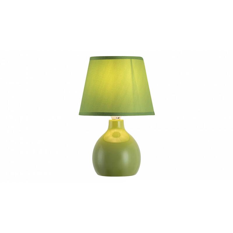 Rábalux Ingrid 4477 éjjeli asztali lámpa zöld kerámia E14 1x MAX 40 E14 1 db IP20