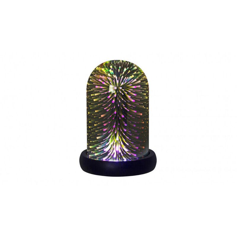 Rábalux Joyce 4550 hangulatfény fekete műanyag LED 0,5 100 lm 6500 K IP20