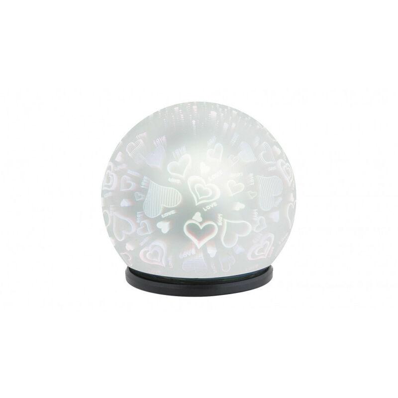 Rábalux Laila 4551 hangulatfény fekete műanyag LED 0,5 50 lm 6500 K IP20