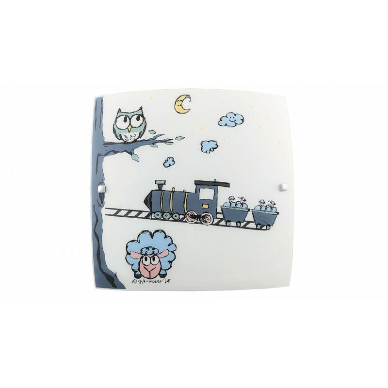Rábalux Shepherd 4557 fali gyereklámpa többszínű fém E27 2x MAX 60 E27 2 db IP20