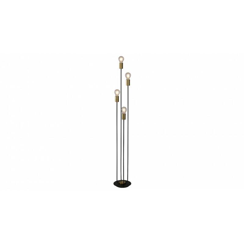 Rábalux Lanny 4561 állólámpa fekete fém E27 4x MAX 15 E27 4 db IP20