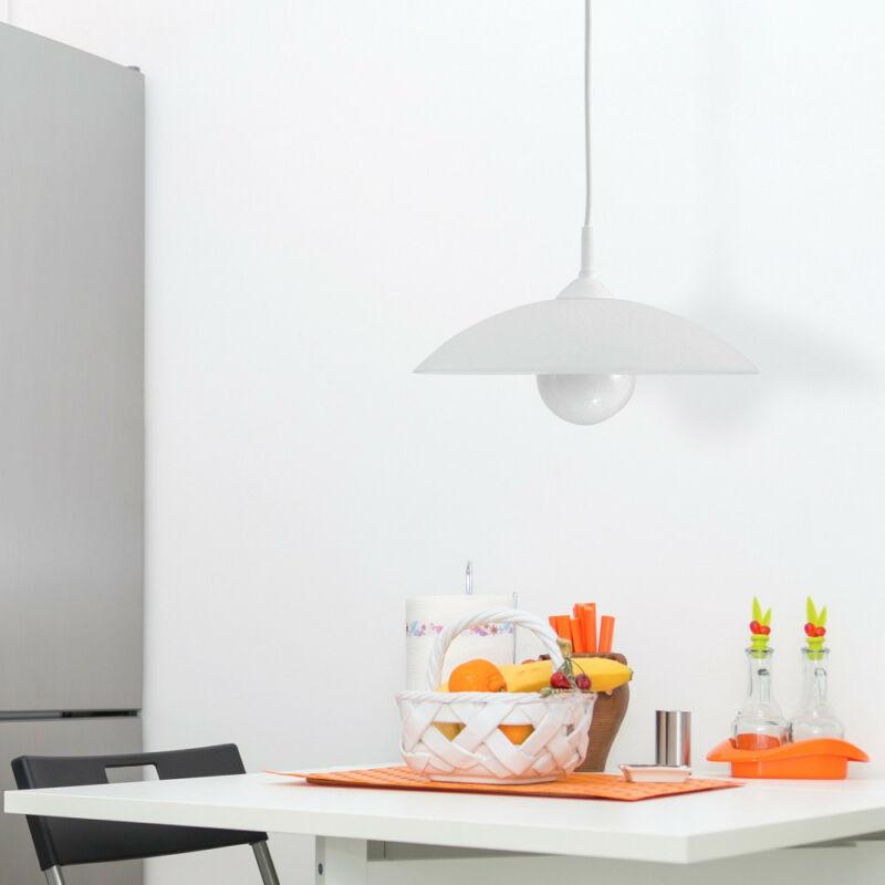 Rábalux Cupola range 4615 egyágú függeszték fehér műanyag E27 1x MAX 60 E27 1 db IP20