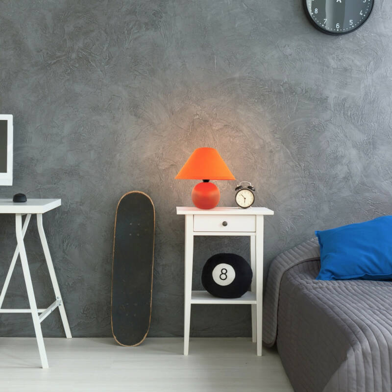 Rábalux Ariel 4904 éjjeli asztali lámpa narancs kerámia E14 1x MAX 40 E14 1 db IP20