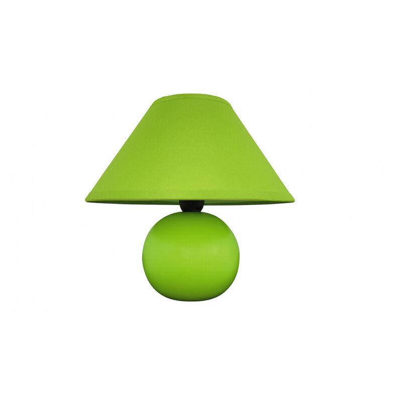 Rábalux Ariel 4907 éjjeli asztali lámpa zöld kerámia E14 1x MAX 40 E14 1 db IP20