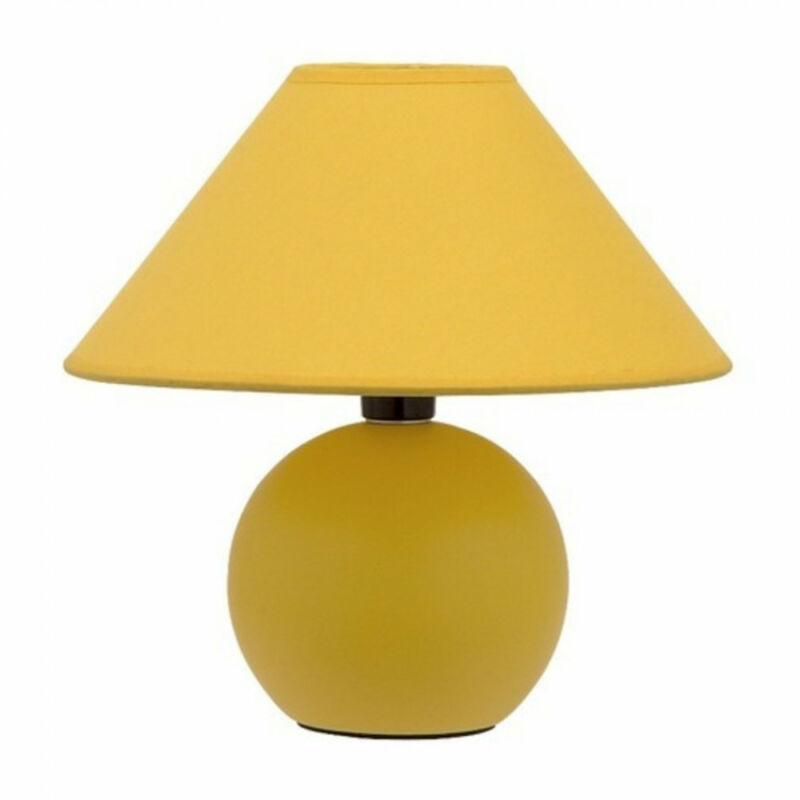 Rábalux Ariel 4905 éjjeli asztali lámpa sárga kerámia E14 1x MAX 40 E14 1 db IP20