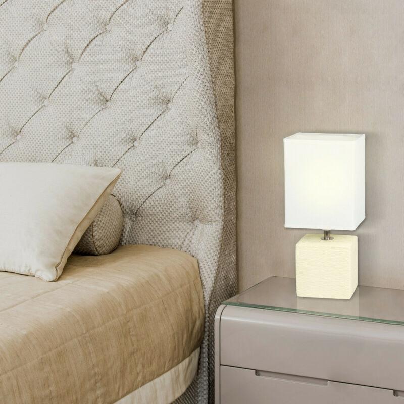 Rábalux Orlando 4929 éjjeli asztali lámpa krém kerámia E14 1x MAX 40 E14 1 db IP20