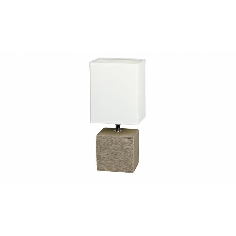Rábalux Orlando 4930 éjjeli asztali lámpa kakaó kerámia E14 1x MAX 40 E14 1 db IP20
