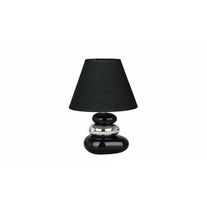 Rábalux Salem 4950 éjjeli asztali lámpa fekete kerámia E14 1x MAX 40 E14 1 db IP20
