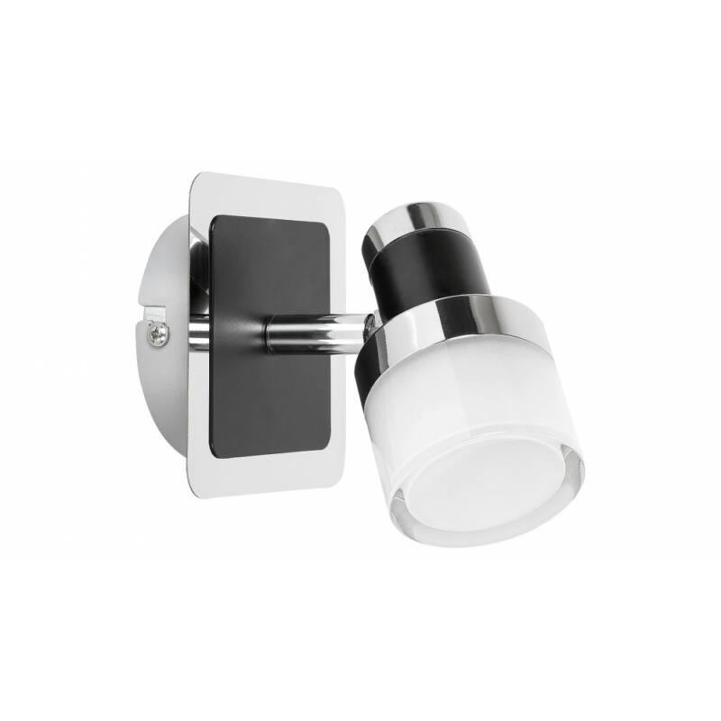 Rábalux Harold 5021 fürdőszoba fali lámpa fekete fém LED 5 400 lm 4000 K IP44 A+