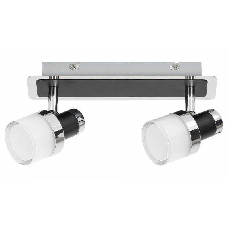 Rábalux Harold 5022 fürdőszoba mennyezeti lámpa fekete fém LED 10 800 lm 4000 K IP44 A+