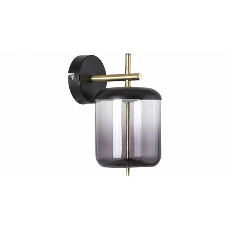 Rábalux Delice 5025 falikar fekete fém LED 6 480 lm 4000 K IP20 A