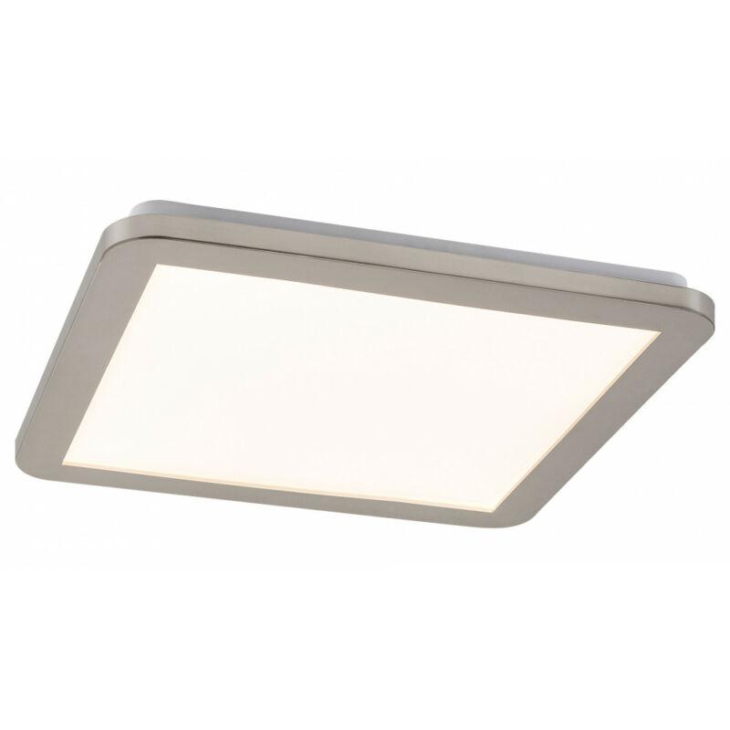 Rábalux Jeremy 5209 fürdőszoba mennyezeti lámpa ezüst fém LED 18 1200 lm 3000 K IP44 A