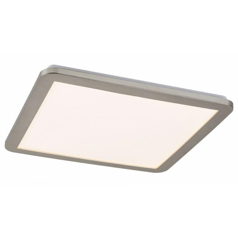 Rábalux Jeremy 5210 fürdőszoba mennyezeti lámpa ezüst fém LED 24 1500 lm 3000 K IP44 A