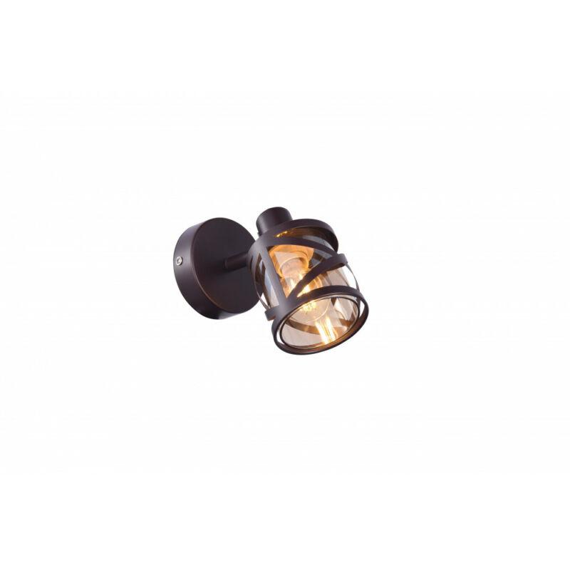 Rábalux Oberon 5335 fali olvasólámpa barna fém E14 1x MAX 40 E14 1 db IP20