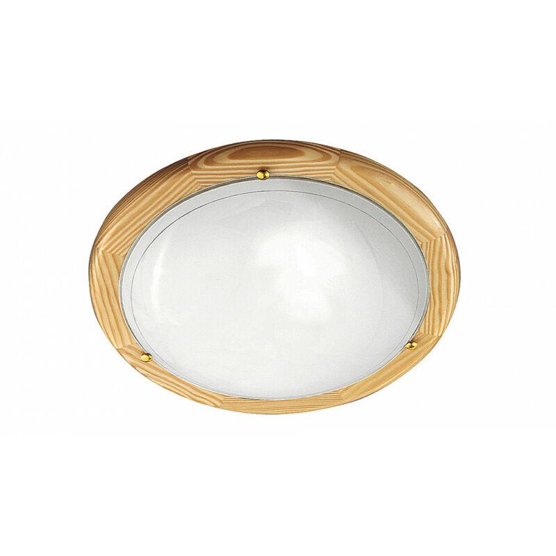 Rábalux Ufo 5421 ufó lámpa natúr fém/ fa E27 2x MAX 60 E27 2 db IP20