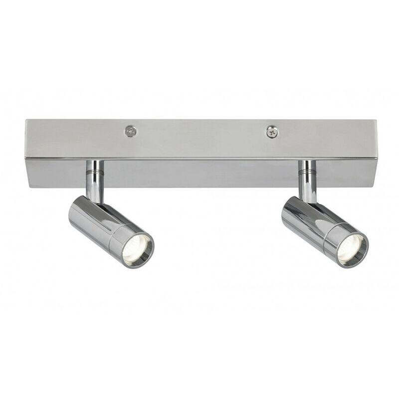 Rábalux George 5494 kültéri mennyezeti led lámpa króm fém LED 2x 5,6 1120 lm 4000 K IP44 A+