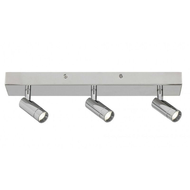 Rábalux George 5495 kültéri mennyezeti led lámpa króm fém LED 3x 5,6 1680 lm 4000 K IP44 A+
