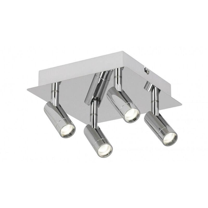 Rábalux George 5496 fürdőszoba mennyezeti lámpa króm fém LED 4x 5,6 2240 lm 4000 K IP44 A+