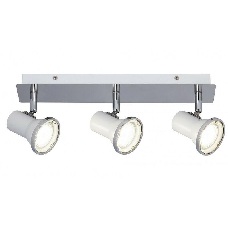 Rábalux Steve 5499 fürdőszoba mennyezeti lámpa fehér fém GU10 3x MAX 15 GU10 3 db 1290 lm 4000 K IP44 A+