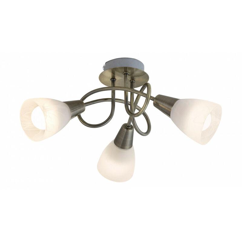 Rábalux Jenna 5533 mennyezeti lámpa  antik bronz   fém   E14 3x MAX 40W   E14   3 db  IP20