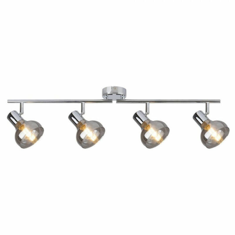 Rábalux Holly 5559 mennyezeti lámpa  króm   fém   E14 4x MAX 40W   E14   4 db  IP20