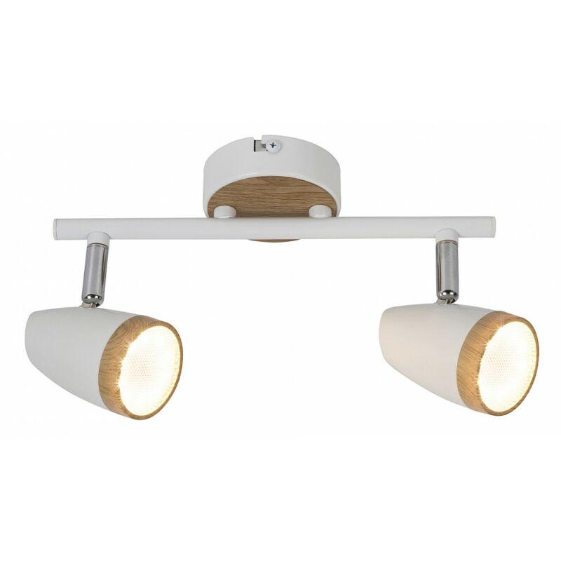 Rábalux Karen 5565 mennyezeti lámpa  fehér   fém   LED 2x 4W   560 lm  3000 K  IP20   A+