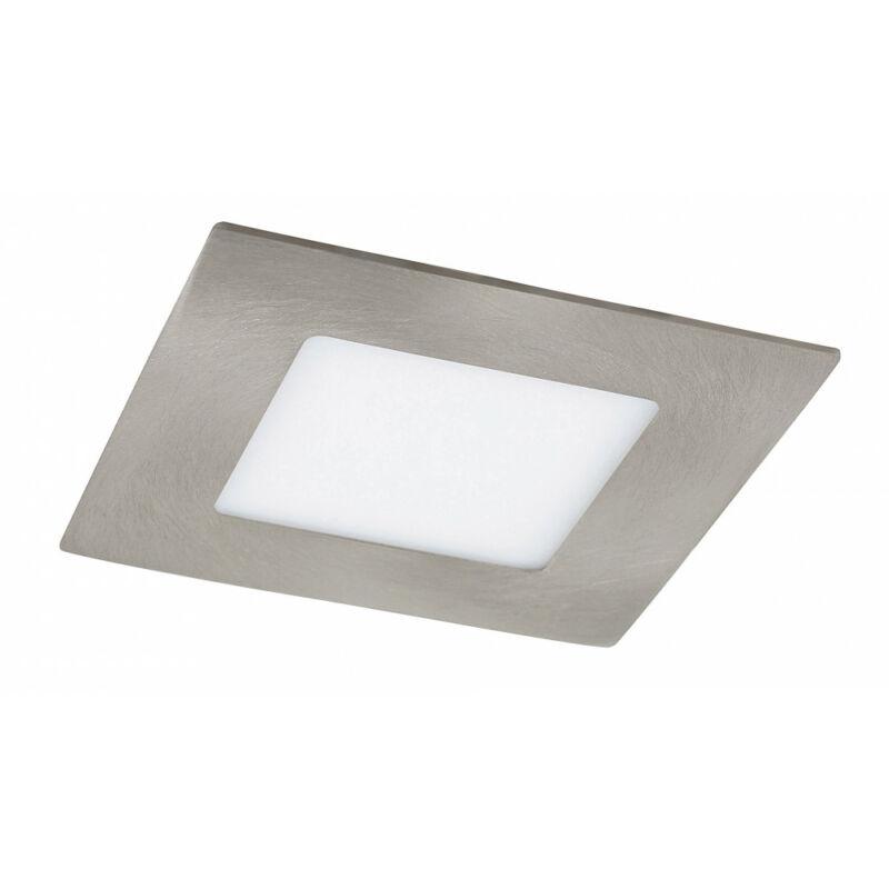 Rábalux Lois 5580 álmennyezetbe építhető lámpa szatin króm fém LED 3 170 lm 3000 K IP20 A+
