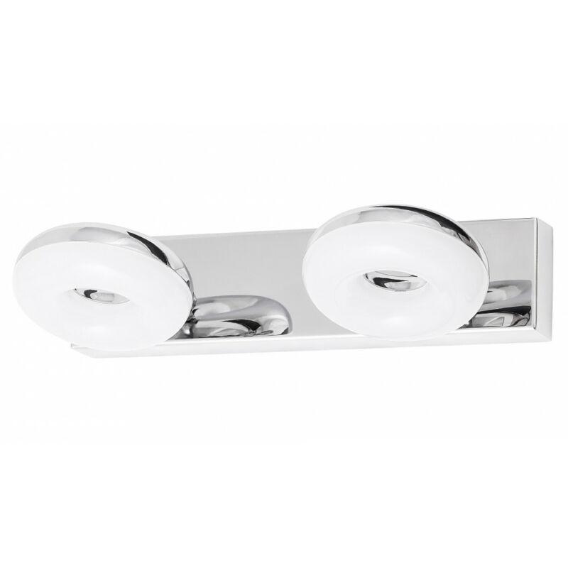 Rábalux Beata 5717 fürdőszoba fali lámpa króm fém LED 2x 5 930 lm 4000 K IP44 A+