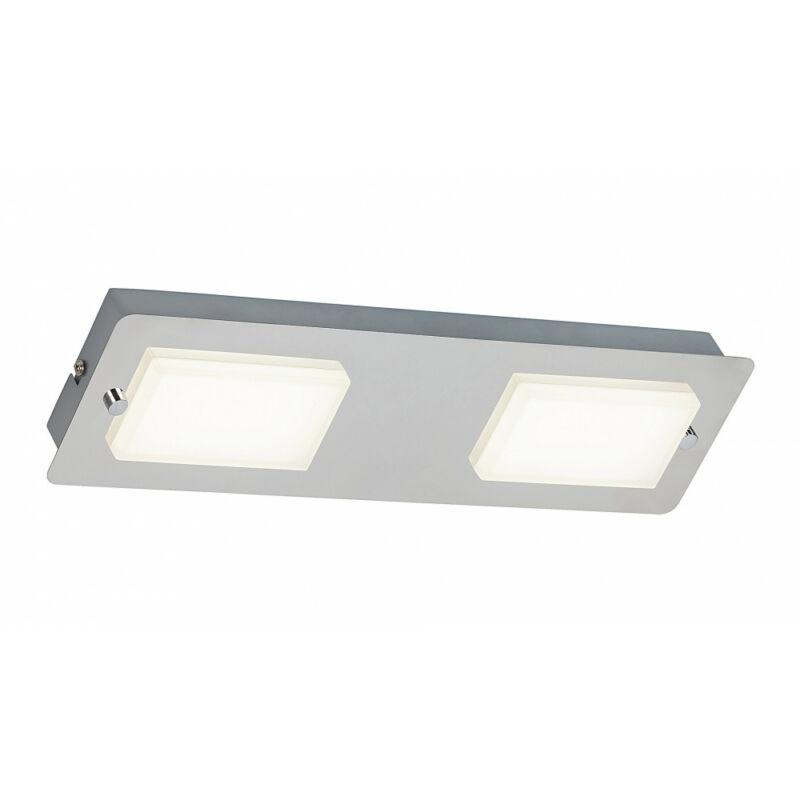 Rábalux Ruben 5723 fürdőszoba mennyezeti lámpa króm fém LED 2x 4,5 774 lm 4000 K IP44 A+
