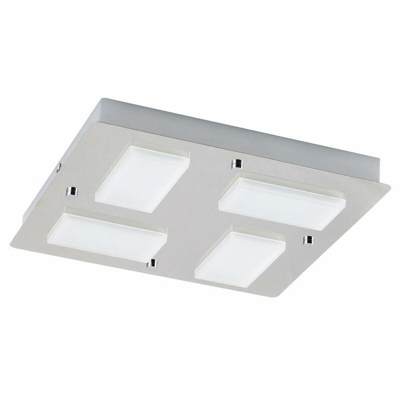 Rábalux Ruben 5725 fürdőszoba mennyezeti lámpa króm fém LED 4x 4,5 1548 lm 4000 K IP44 A+