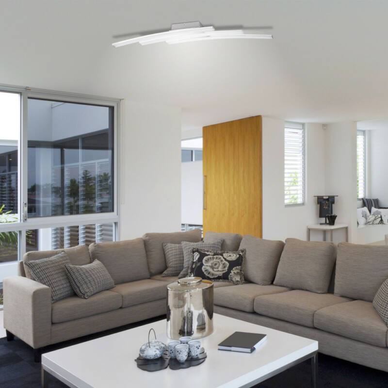 Rábalux Addison 5758 mennyezeti lámpa súrolt alumínium fém LED 3x 10 2800 lm 3000 K IP20 A+