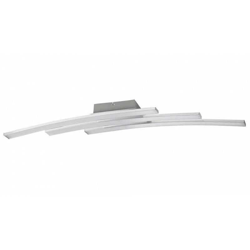 Rábalux Addison 5758 mennyezeti lámpa súrolt alumínium fém LED 3x 10 2800 lm 3000 K IP20 F