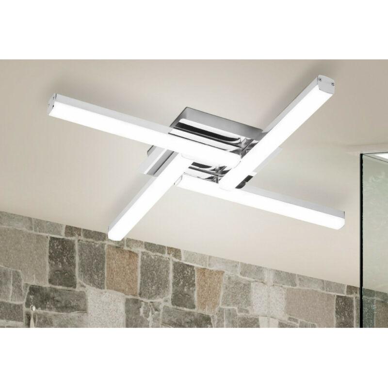 Rábalux Antonia 5896 mennyezeti lámpa króm fém LED 4x 6 2200 lm 4000 K IP44 A+