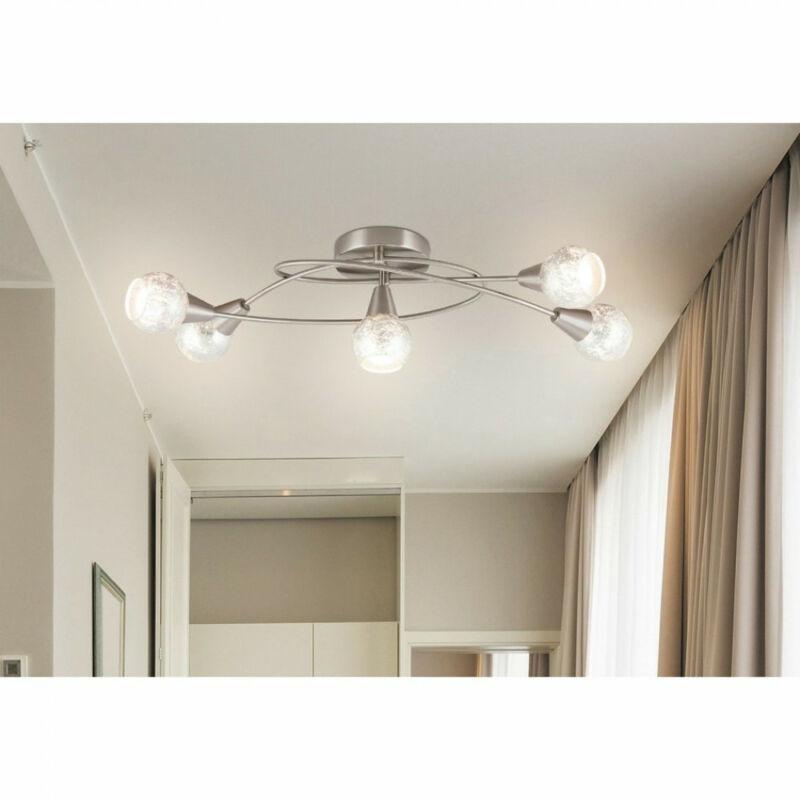 Rábalux Noelle 5930 mennyezeti lámpa  szatin króm   fém   E14 5x MAX 25W   IP20