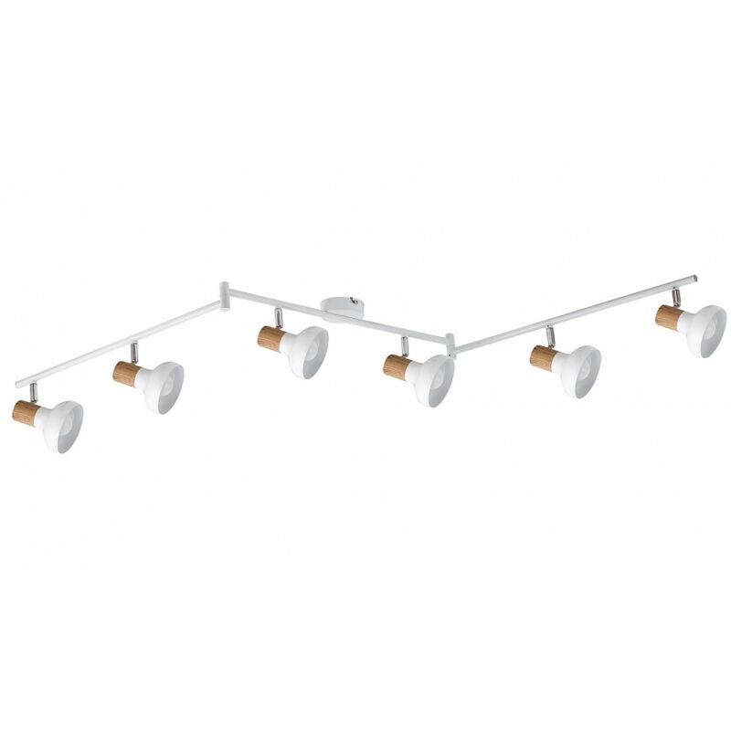 Rábalux Holly 5948 mennyezeti lámpa  fehér   fém   E14 6x MAX 40W   IP20