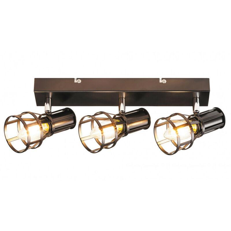 Rábalux Aria 5960 mennyezeti lámpa  matt fekete   fém   E14 3x MAX 40W   IP20