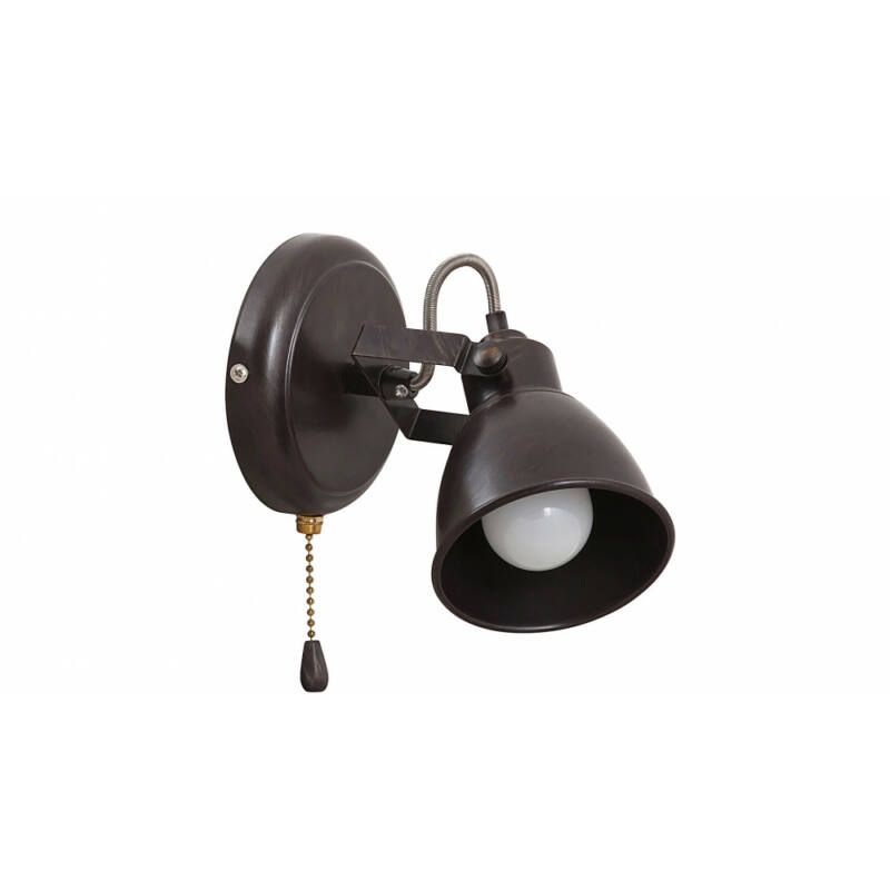 Rábalux Vivienne 5962 fali lámpa kapcsolóval antik barna fém E14 1x MAX 15 E14 1 db IP20