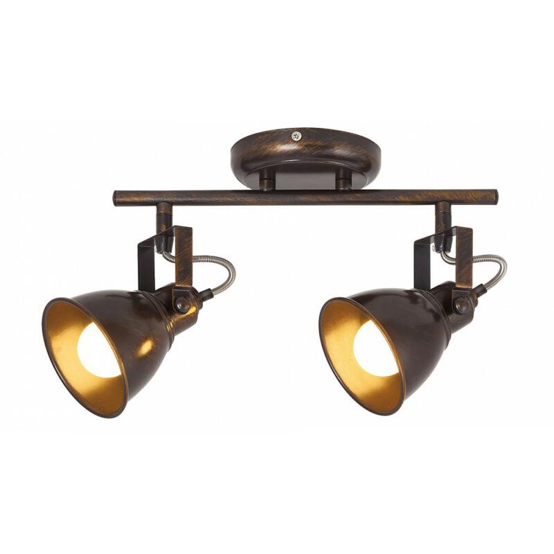 Rábalux Vivienne 5963 mennyezeti lámpa antik barna fém E14 2x MAX 40 E14 2 db IP20