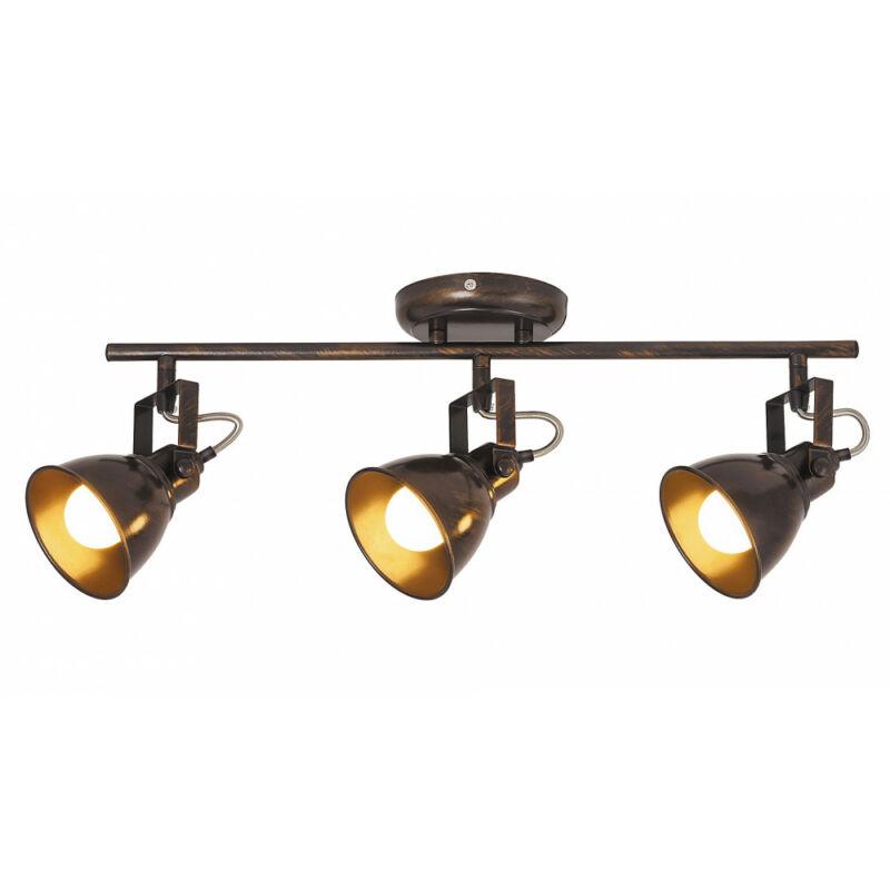 Rábalux Vivienne 5964 mennyezeti lámpa antik barna fém E14 3x MAX 40 E14 3 db IP20