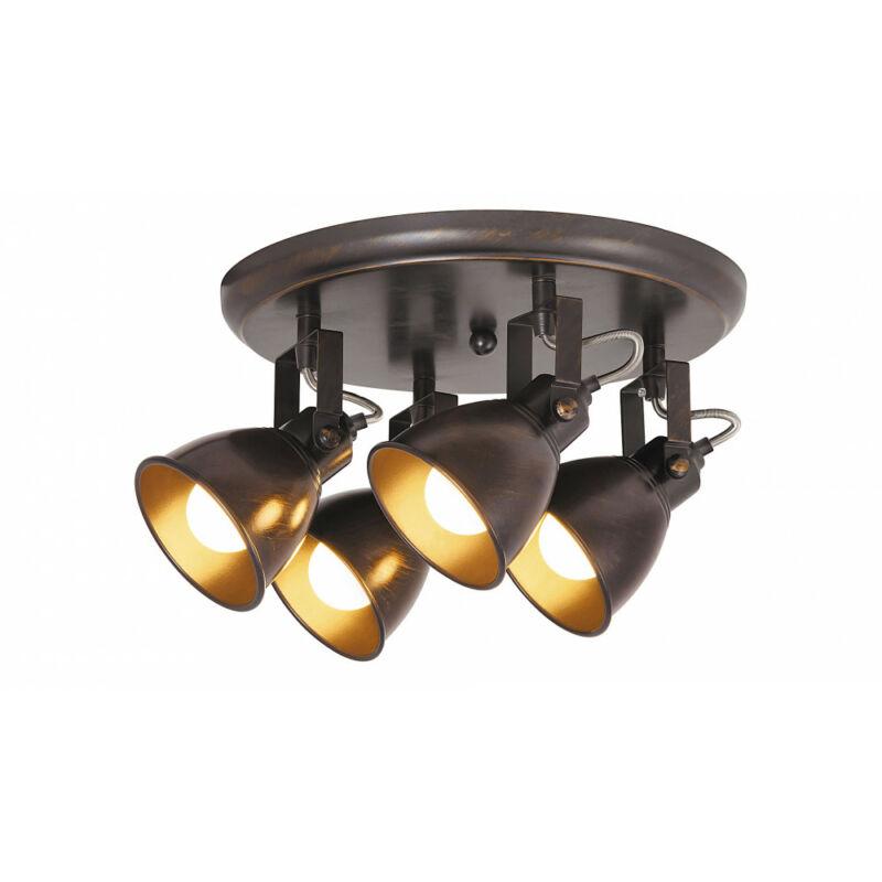 Rábalux Vivienne 5965 mennyezeti lámpa antik barna fém E14 4x MAX 40 E14 4 db IP20