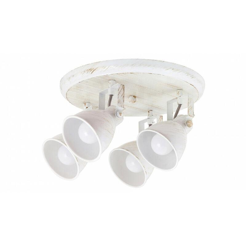 Rábalux Vivienne 5969 mennyezeti lámpa antik fehér fém E14 4x MAX 40 E14 4 db IP20