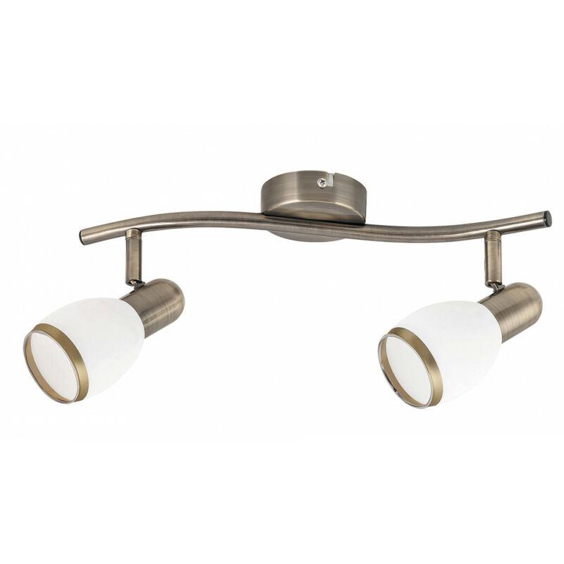 Rábalux Elite 5971 mennyezeti lámpa bronz fém E14 2x MAX 40 E14 2 db IP20