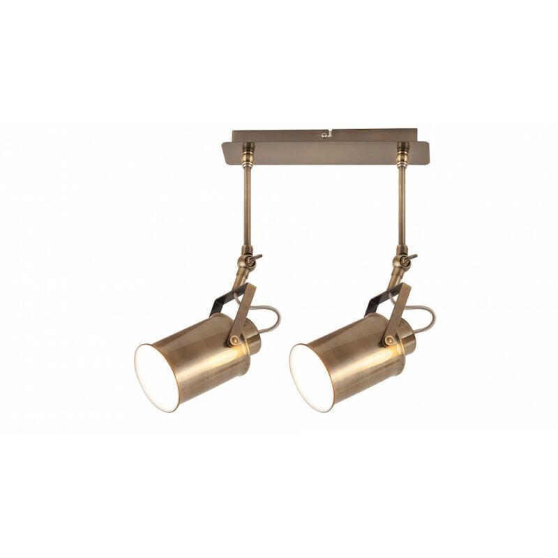 Rábalux Peter 5982 mennyezeti lámpa antik bronz fém E27 2x MAX 60 E27 2 db IP20