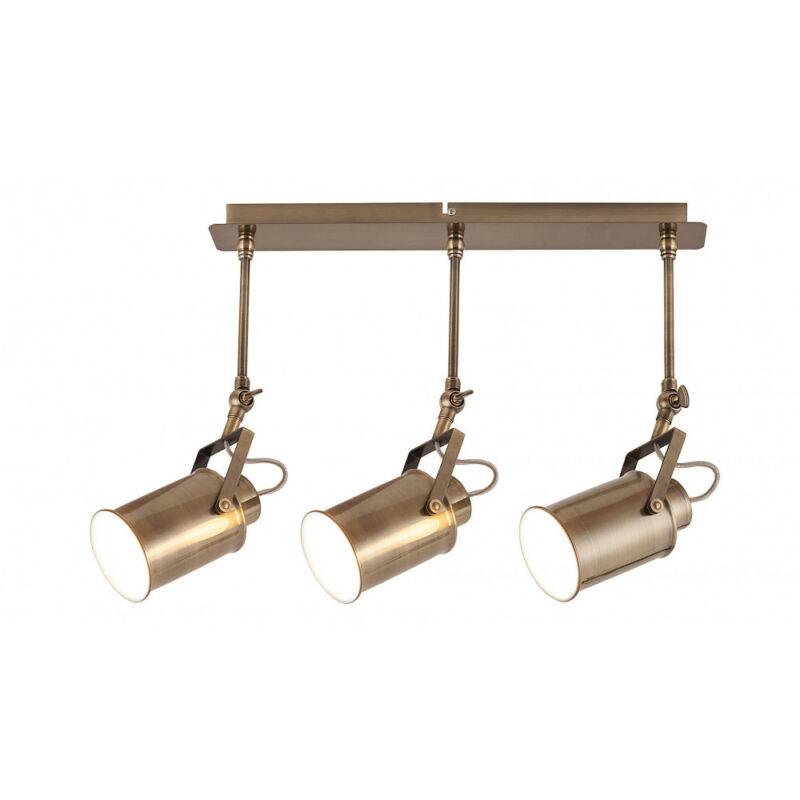 Rábalux Peter 5983 mennyezeti lámpa antik bronz fém E27 3x MAX 60 E27 3 db IP20