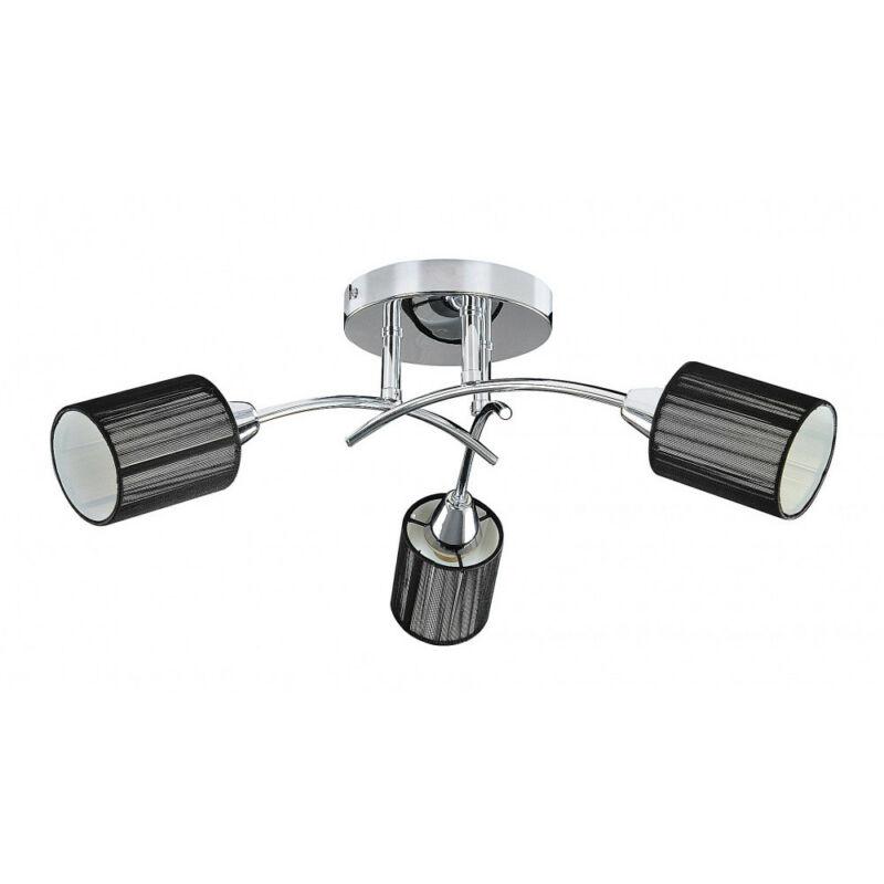 Rábalux Veda 6003 mennyezeti lámpa  króm   fém   E14 3x MAX 9W   IP20
